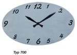 Schmuckuhr Edel-Line aus Edelstahl strichpoliert oder mustergewalzt, schwarz oder blau hinterlegt, Sonderfarben auf Anfrage,individualisierbar mit Laserbeschriftung z. B. Logo, Name oder Spruch