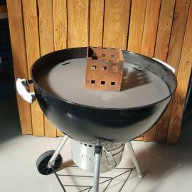Grillplatte für Weber Grill (für innen) mit Aufsatz