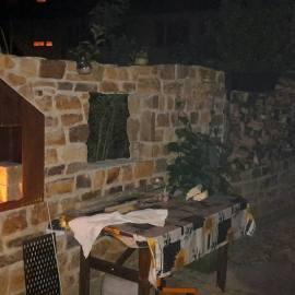 Garten-Grill-Ofen-Corten