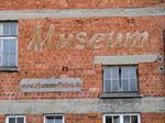 Schild Museum patina