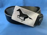 Gürtelschnalle, Gürtelschließe, Gürtelkoppeln Pferd, Horse