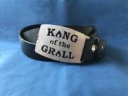 King of the Grill Gürtelschnalle, Gürtelschließe, Gürtelkoppel King of the Grill