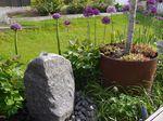 Blumenkübel rund aus Cortenstahl